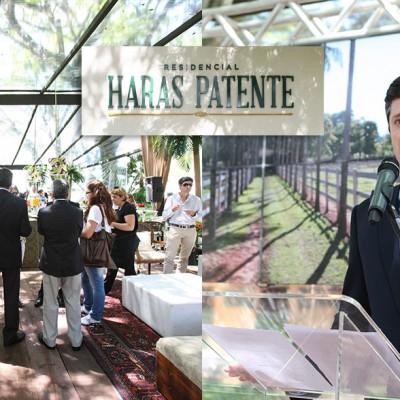 Lançamento do Haras Patente
