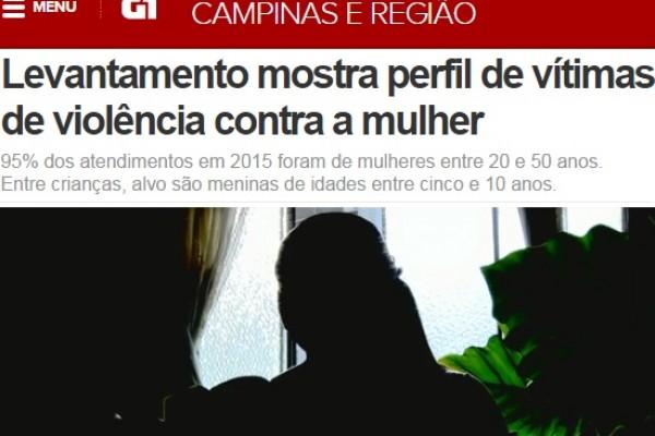 ONG SOS Ação Mulher e Família saiu na EPTV e Tv Câmara